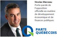 Nicolas Marceau PQ Rousseau