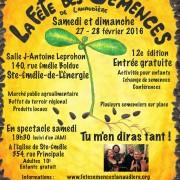 La Fête des Semences de Lanaudière - 12e Édition - 2016
